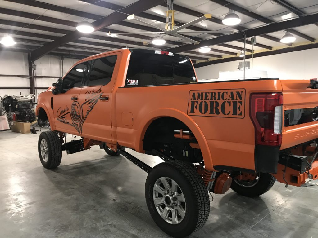 Omar's Truck color change Orange